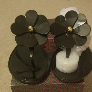 NWT Tory Burch Flower Jelly Sandles 7